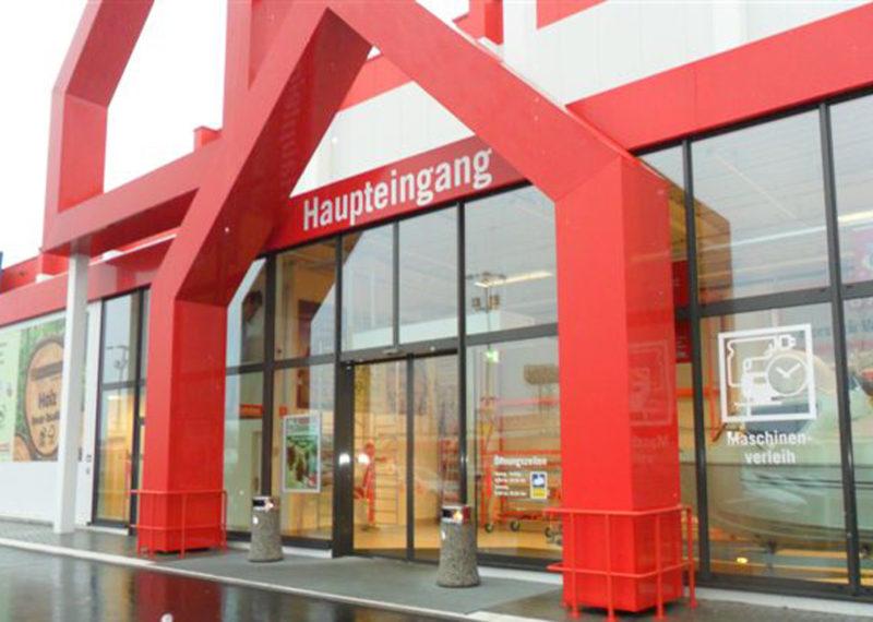 Bauhaus Eingangsbereich