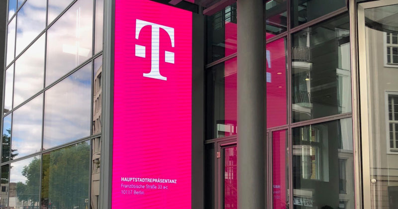 Digital Signage Telekom Berlin
