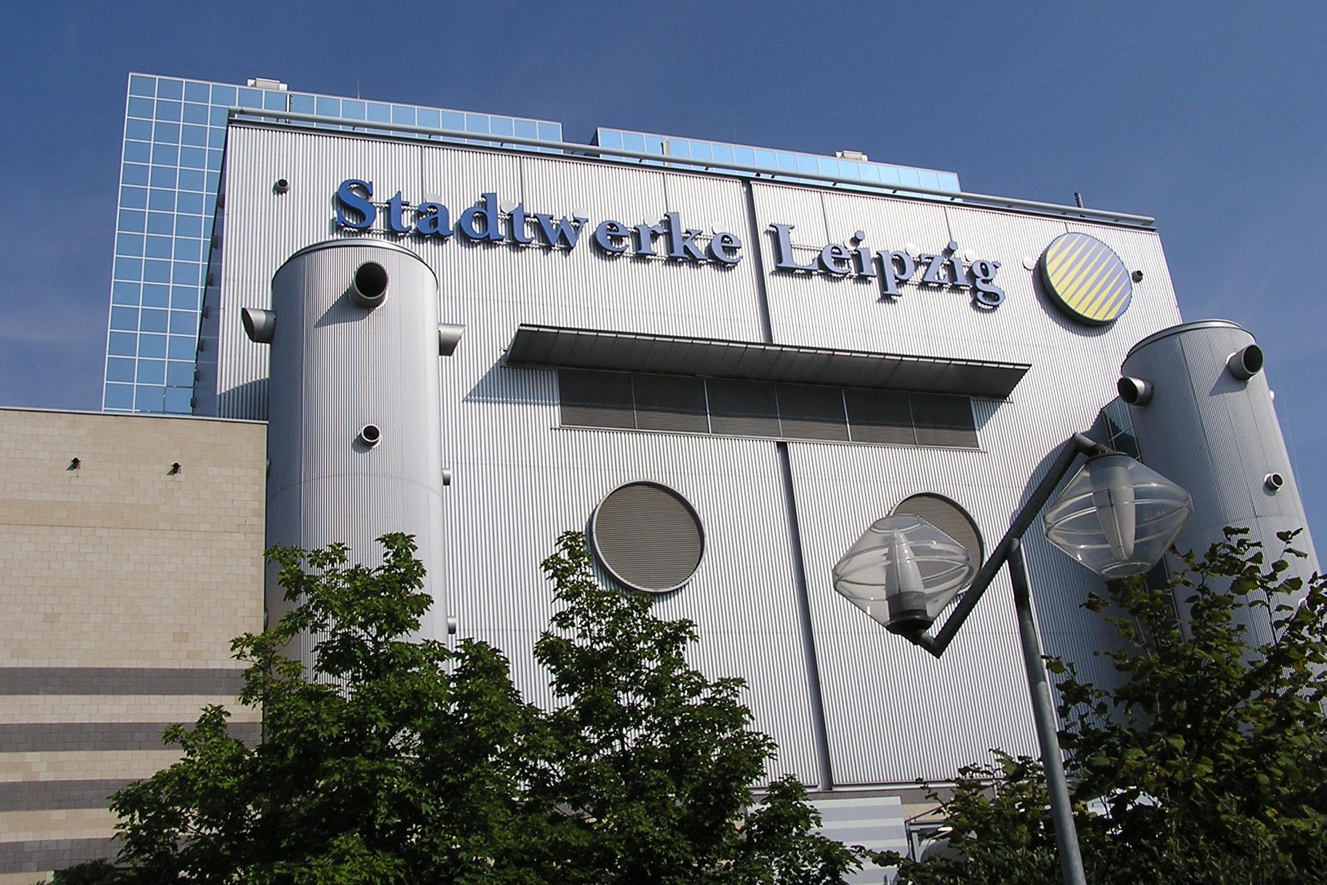Leipziger Stadtwerke GuD Kraftwerk Tagansicht
