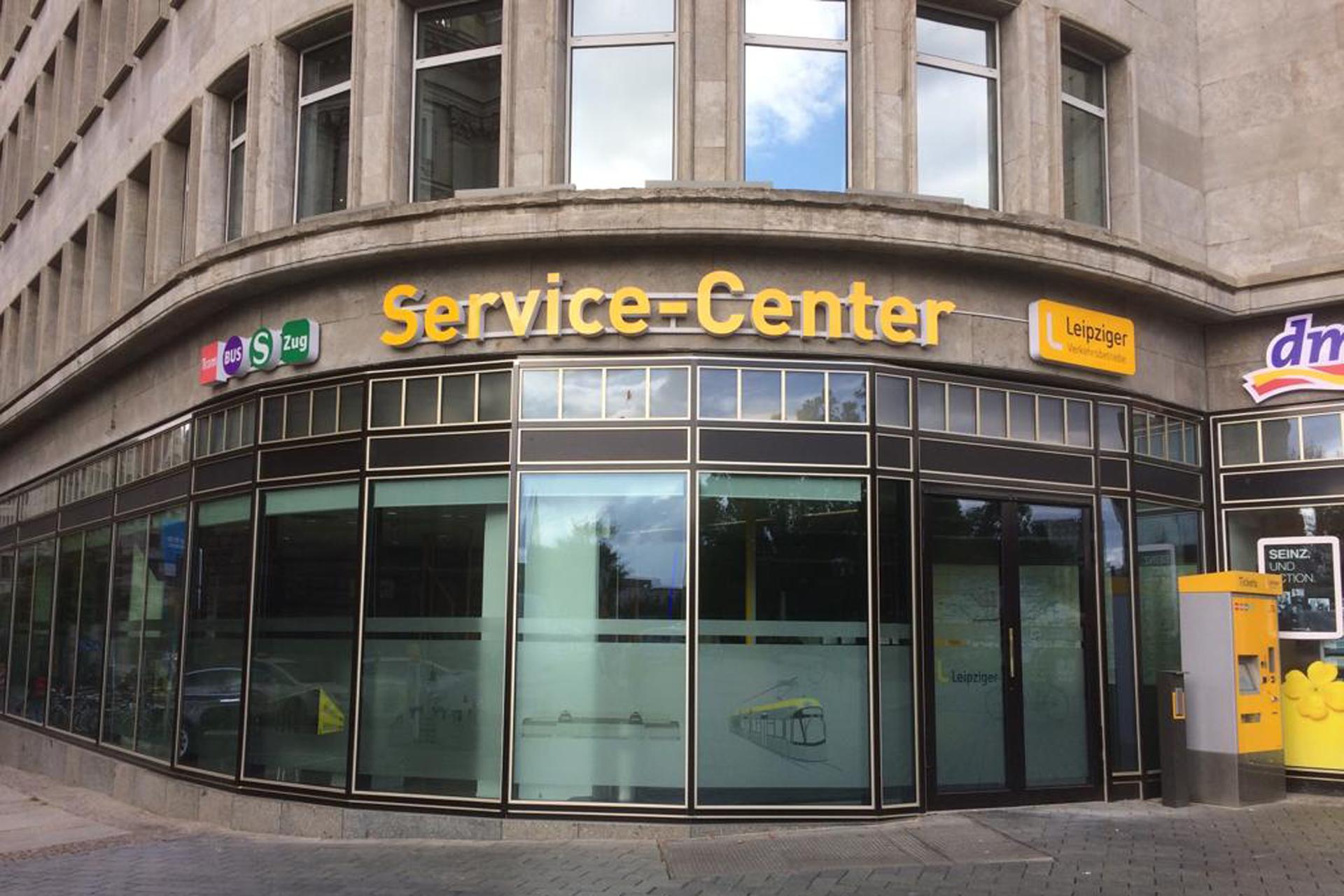 Leipziger Verkehrsbetriebe Service Center