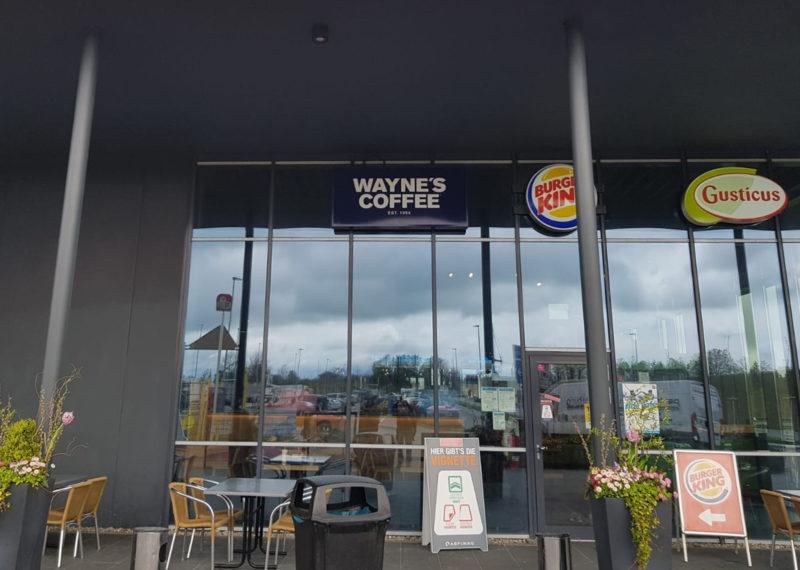 T&R Waynes Coffee Burger King Gusticus