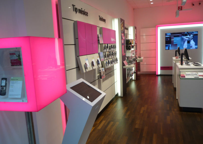 Telekom Shopeinrichtung